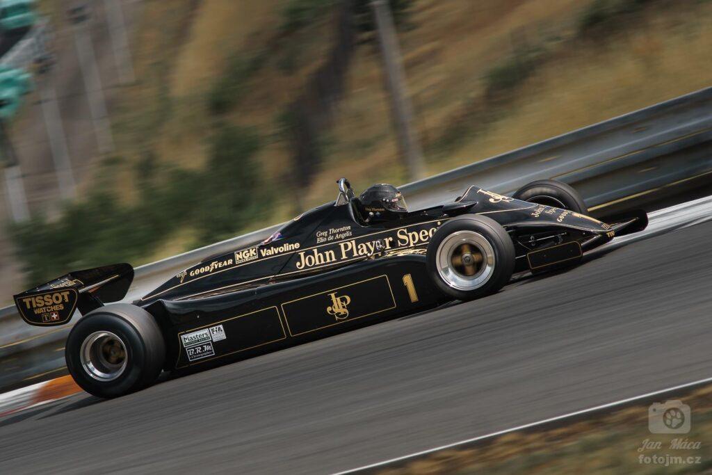 GP Revival 2014 - Lotus 91/5 z roku 1982