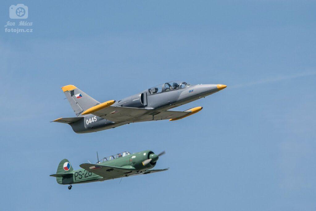 Jakovlev Jak-11 & Aero L-39 Albatros